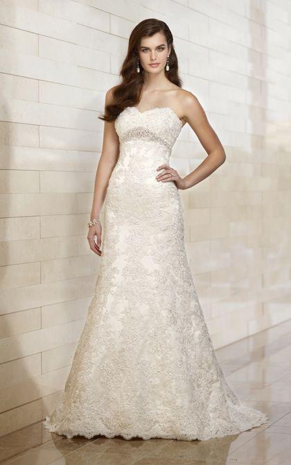 Wedding Dresses | A Line Wedding Dresses | Essense of Australia #Essense #WeddingDress #StyleD1398