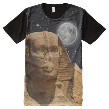 Egyptian sphinx t-shirts - click/tap to personalize and buy