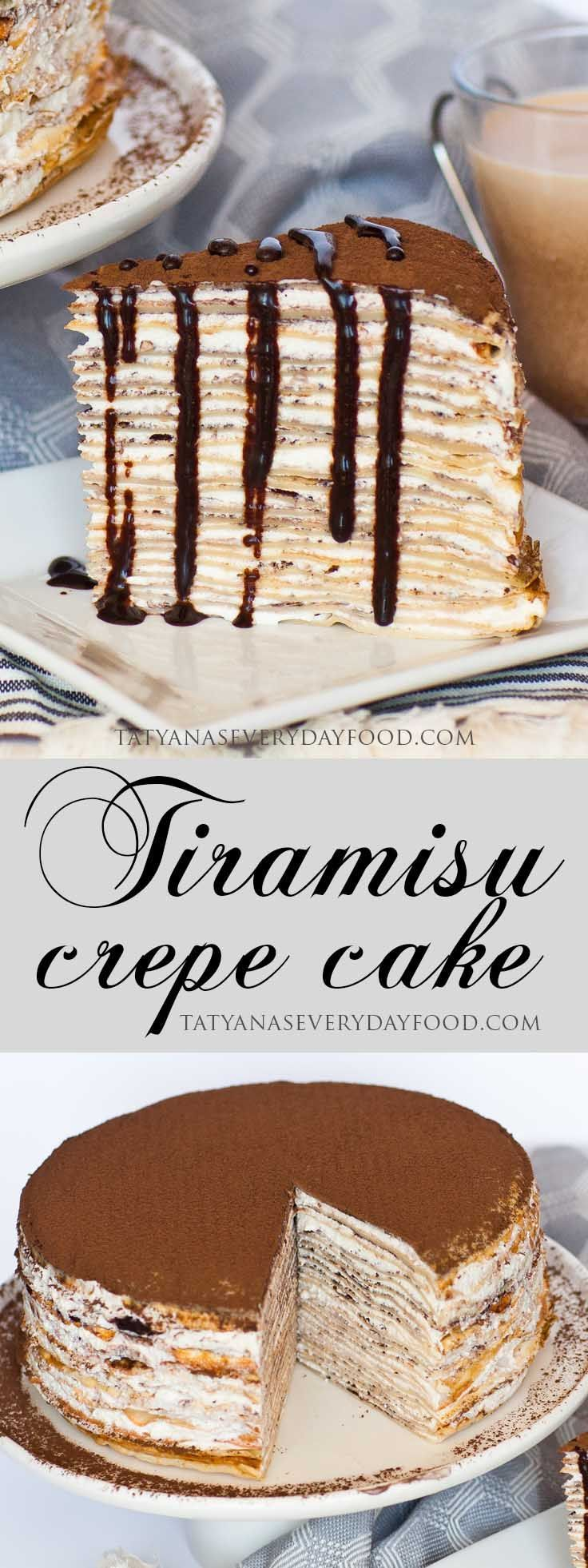 If you love Tiramisu and crepes, you're going to love my 'Tiramisu Crepe Cake'! I make this cake with delicate, coffee-flavored crepes and fill it with a fluffy whipped cream frosting. Once you cut into the cake, the cake layers speak for themselves; a simple and elegant finish is all the cake needs! This cake […]