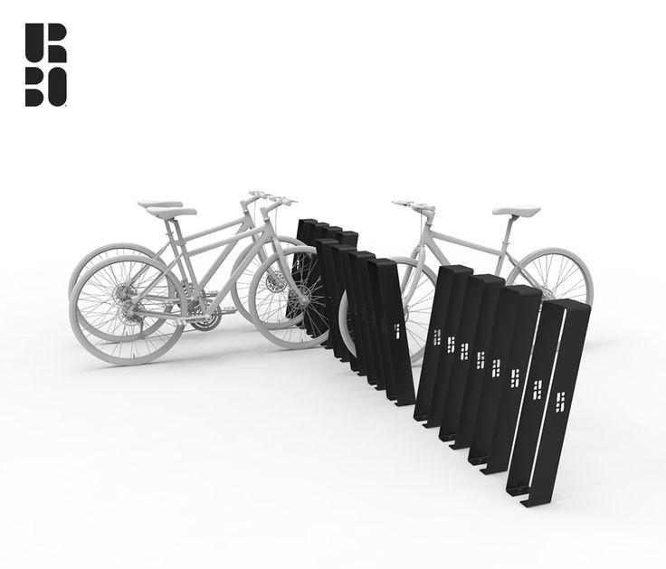 Noir portabici / bike rack