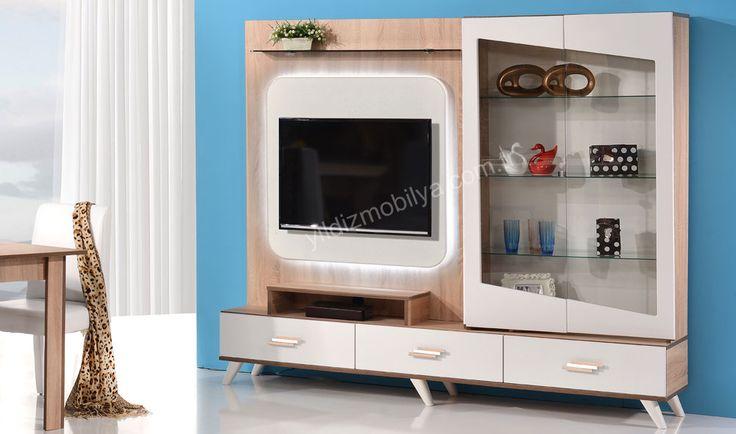 Çağla Tv Ünitesi Hayallerinizdeki Modern Tasarımı Yakalamak Sizin Elinizde  http://www.yildizmobilya.com.tr/cagla-tv-unitesi-pmu5360 #kadın #home #tv #unite #dekorasyon #populer #ev http://www.yildizmobilya.com.tr/