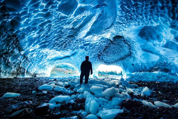 In the Big Four Ice Caves (photograph by Michael Matti) - See more at: http://atlasobscura.herokuapp.com/articles/ice-caves#sthash.ZxjgeRO9.dpuf