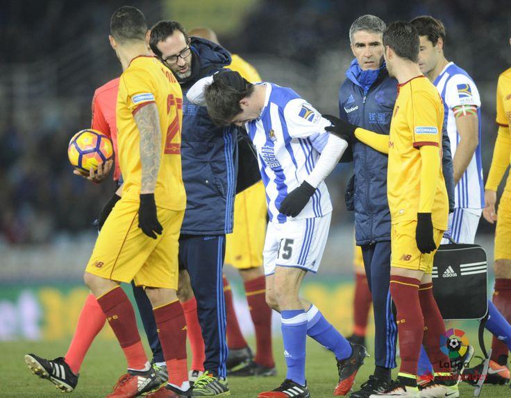 Vitolo en el Real Sociedad 0 - Sevilla 4