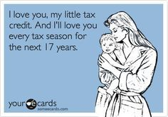 When they're misbehaving... just remember... #tax_writeoff #credit #tax #humor