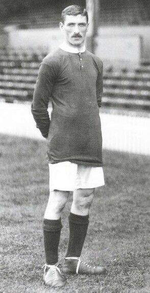 Billy Meredith of Manchester United 1912
