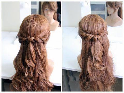Причёски на длинные густые волосы своими руками