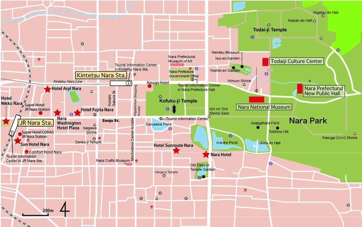 A tourist map of Nara — Weasyl