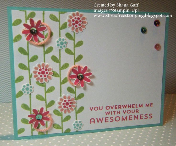 Stress-Free Stamping with Shana: The Stamp Review Crew: Flower Patch Edition