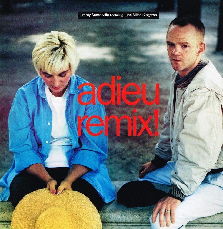 JIMMY SOMERVILLE: ADIEU - REMIX (3 Track 12  Single)