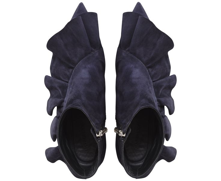 MIDNIGHT RUFFLE BOOTIE - Accessories - womens