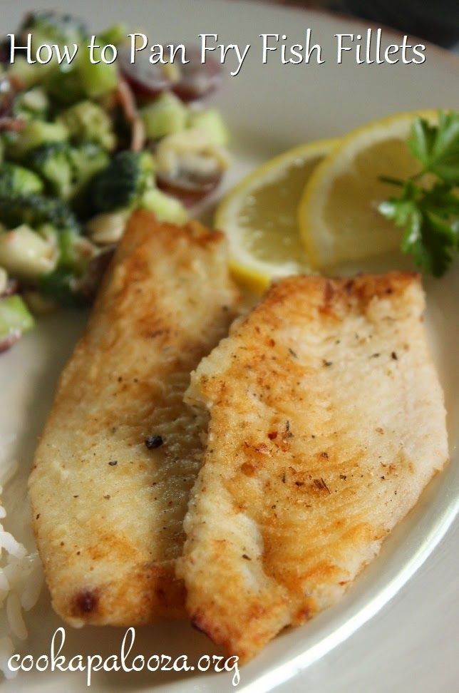How to pan fry fish fillets for a quick and easy dinner for How to bake fish fillet