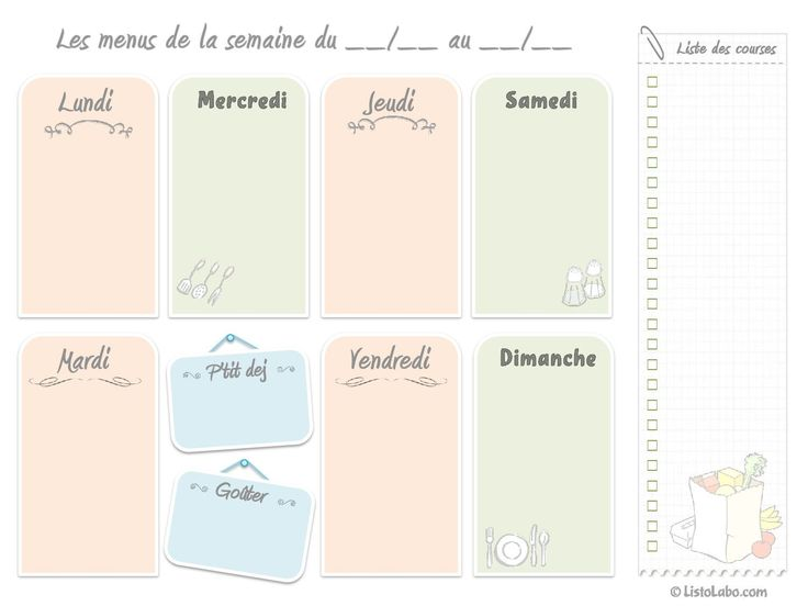 Gut bekannt Les 25 meilleures idées de la catégorie Modèles de menu sur  JK41