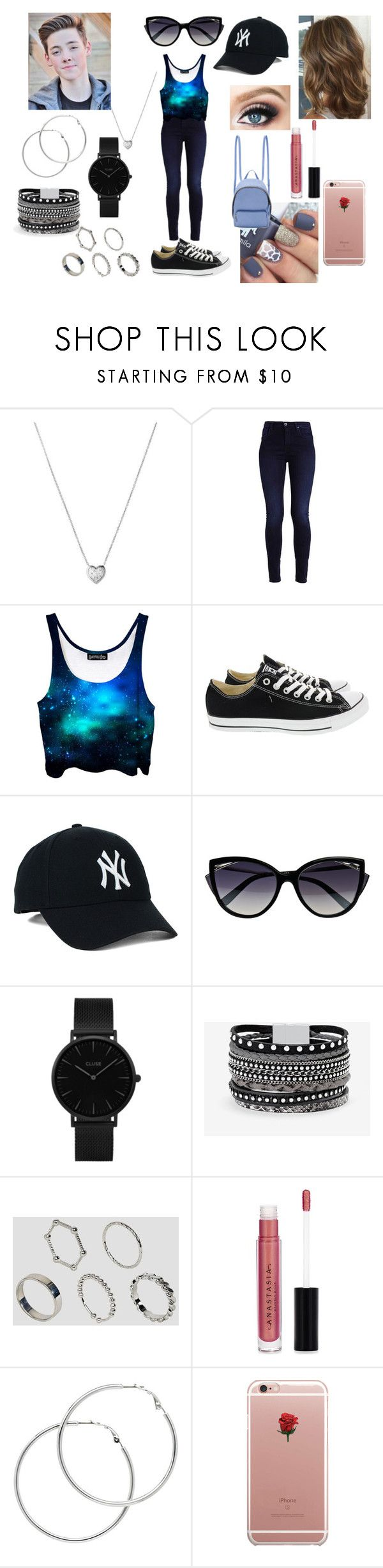 """""""Park Picnic Date With Zach Herron"""" by roxy-crushlings ❤ liked on Polyvore featuring Links of London, Converse, La Perla, CLUSE, White House Black Market, ASOS, Anastasia Beverly Hills, Melissa Odabash, ETUÍ and STELLA McCARTNEY"""