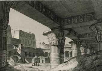 DENON, Dominique Vivant, Baron de (1747-1825). Voyage dans la Basse et la Haute Égypte. Paris: Pierre Didot l'âiné, 1802.