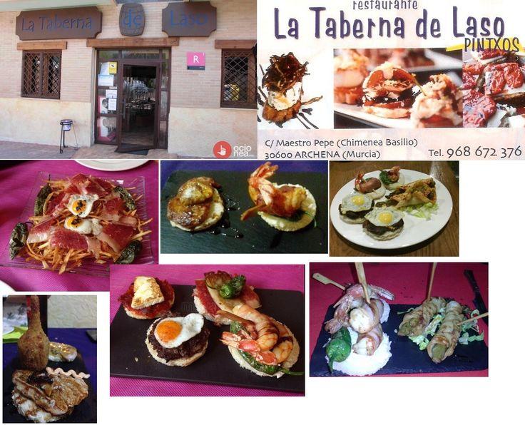 LA TABERNA DE LASO -  ARCHENA  (MURCIA)  Tapas espectaulares!!!!!!!!!