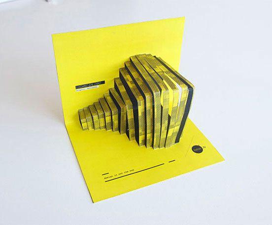 Creative visit card, Luciano Balzano