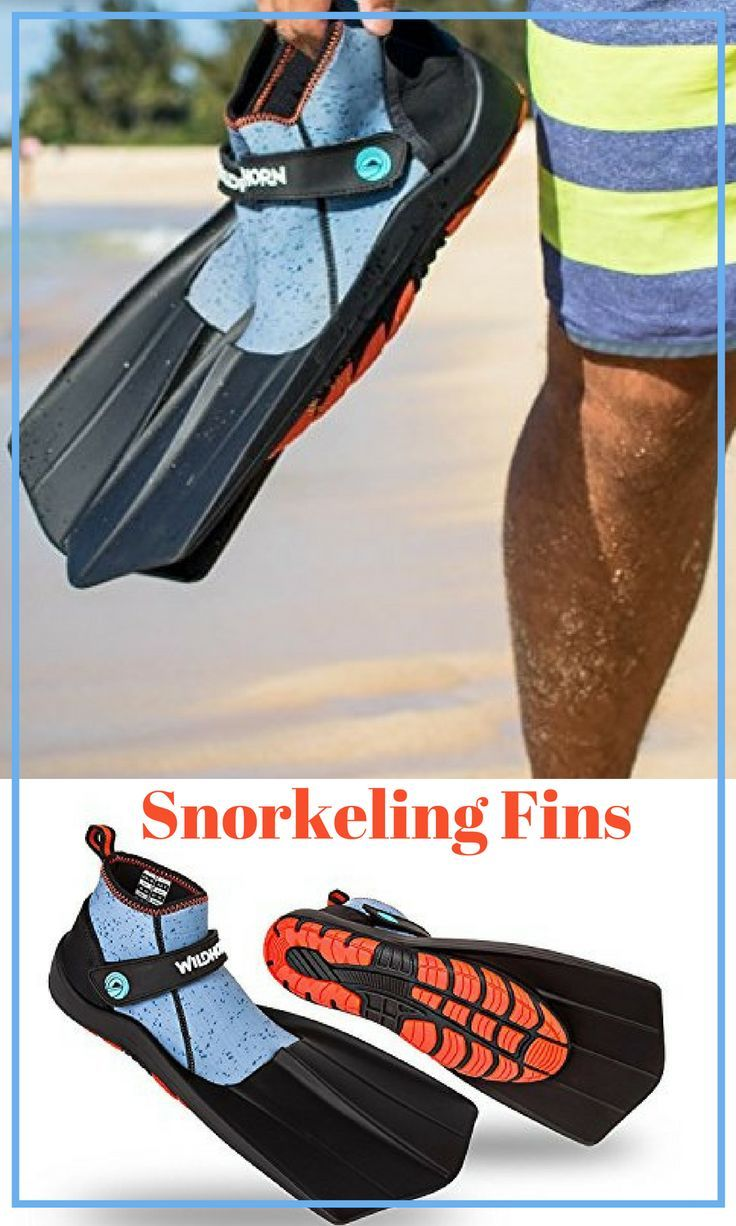 Revolutionary Comfort on Land and Sea. and Snorkeling Flippers for Men and Women Swim Wildhorn Topside Snorkel Fins- Compact Travel