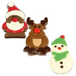 Czekoladowe Renifery i Mikołajki oraz więcej pomysłów na drobne prezenty świąteczne dla Niego :)
