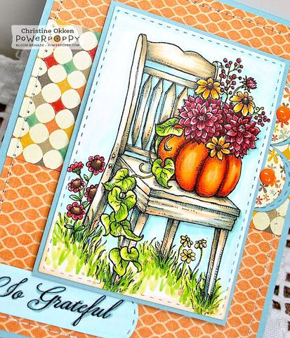 So Grateful Stamp Set | Power Poppy by Marcella Hawley