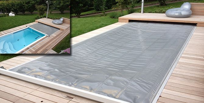 Couverture piscine automatique