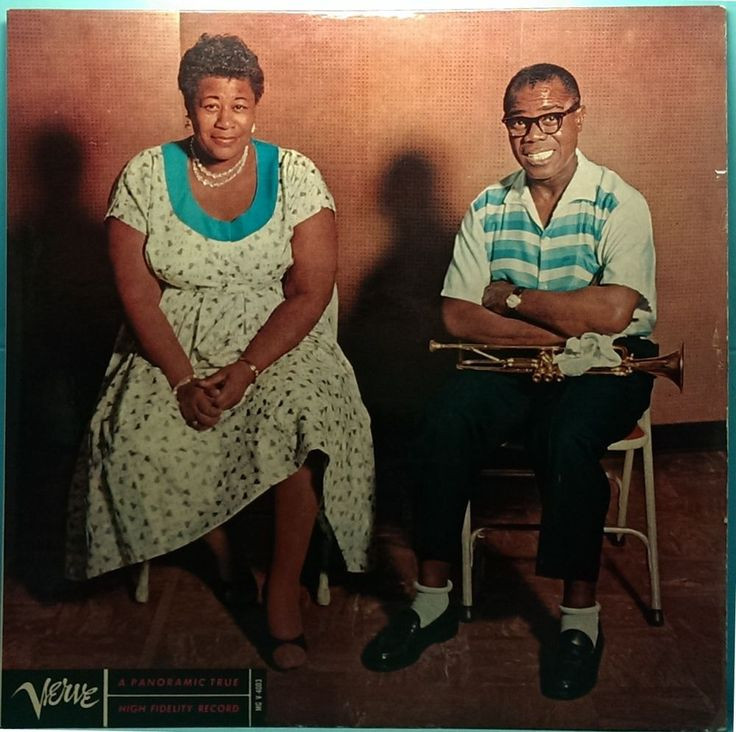ELLA FITZGERALD and LOUIS ARMSTRONG Verve MG V 4003 Mono Black Label G+/EX 33rpm The fabulous Ella Fitzgerald and amazing Louis Armstrong together on this ultra rare jazz record from 1956. $35.00