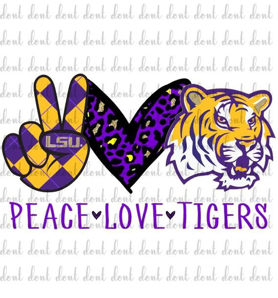 Peace Love Lsu Png Peace Love Tigers Lsu Tigers Png Peace Love Well Lsu Lsu Png Tigers Png Sublimation Design Basketball Tigers Png In 2020 Lsu Tigers Peace And Love Lsu