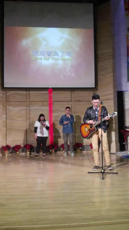 Alexander Renfred at Taipei Truth Church, Taiwan