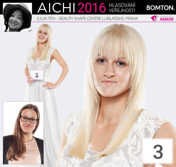 Finále AICHI 2016: Iuliia Ten - Beauty Shape Centre Lublaňská, Praha