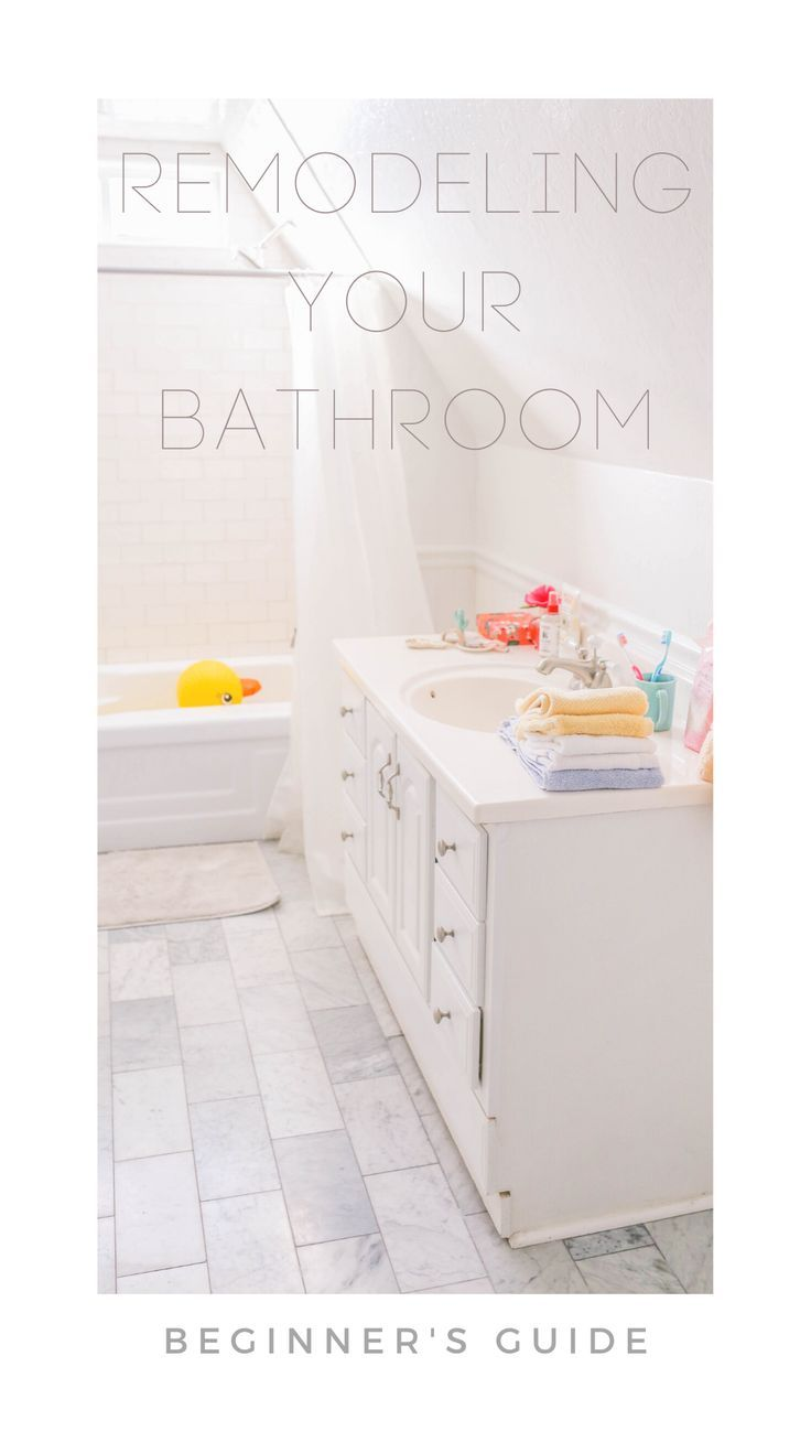 Bathroom Remodel Guide For New Homeowners Bathroom Design Styles Bathrooms Remodel Master Bathroom Renovation