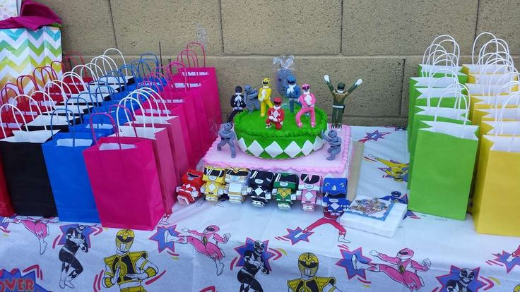 Mighty Morphin Power Rangers Birthday Party Ideas | Photo 3 of 10