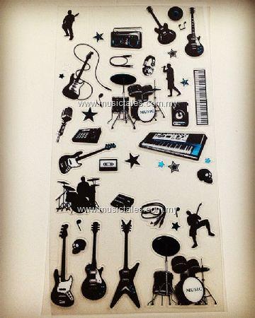 00503-Musical Rocker Sticker
