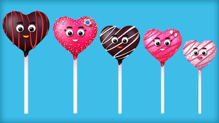 Cake Pop Finger Family Songs - The Finger Family Chocolate Pop Family Nursery Rhyme | Chocolate Pop Finger Family Songs