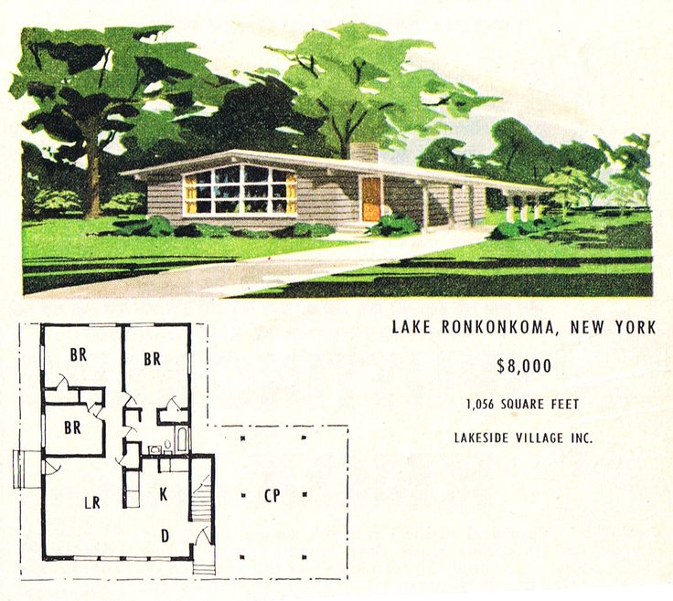 37 Best Images About Mid Century Floor Plans On Pinterest