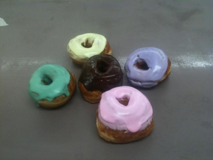 Mini Easter doughnuts