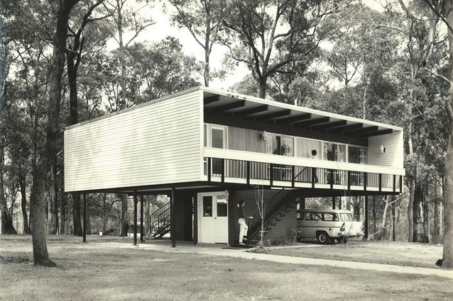 Beachcomber house, Faulconbridge, Blue Mountains, NSW. (1961) IN LOVE!