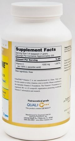 UltraFINE™ Vitamin C Powder