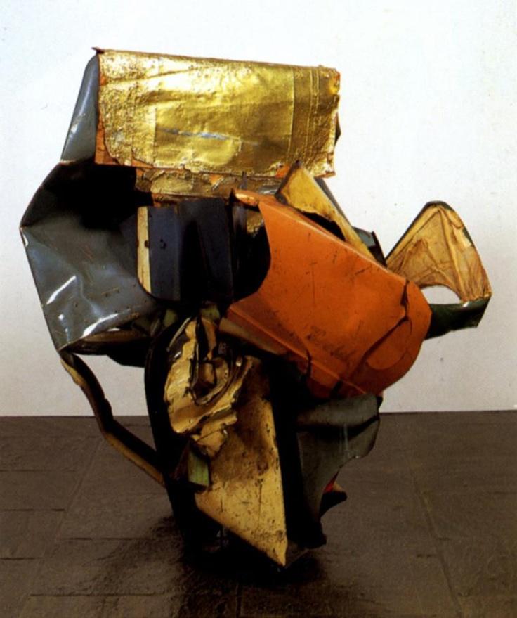 Image result for other sculptors like john chamberlain