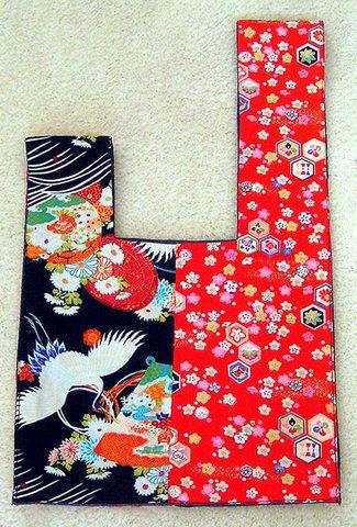 Japanese sling bag, unwrapped
