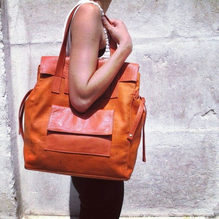 Exclusive cork sunset tote #Pelcor