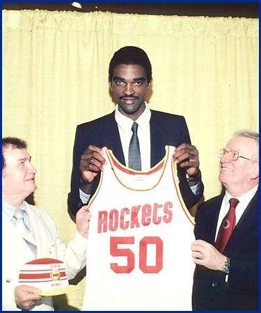 1983 Houston Rockets draft Ralph Sampson