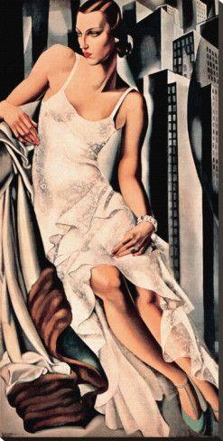 SubjectsCollectionsOther CollectionsArt Deco Art Deco (Fine Art) Portrait de Madame Allan Bott By: Tamara De Lempicka
