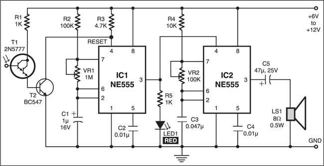cellphone jammer circuit gadgetronicx