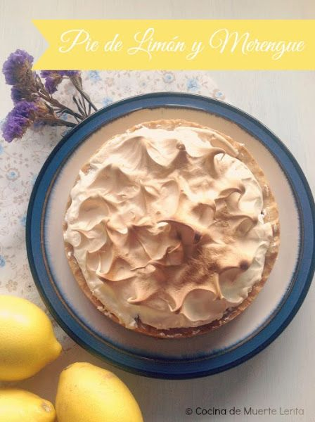 Pie de Limón y Merengue (Lemon Meringue Pie) | Cocinar en casa es facilisimo.com