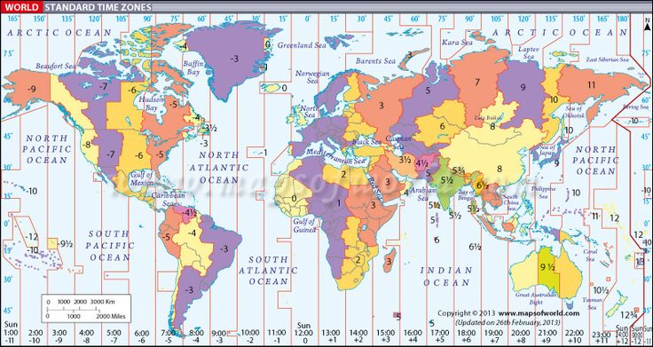 Help with finding longitude based on time zones