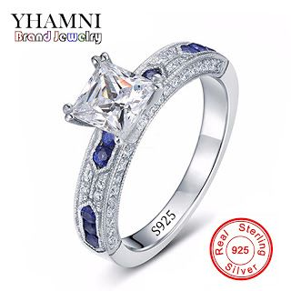 Have Silver Certificate of Authenticity 100% Solid 925 Sterling Silver Ring 1CT SONA CZ Diamond Engagement Ring for Women AR051 (32677595565)  SEE MORE  #SuperDeals