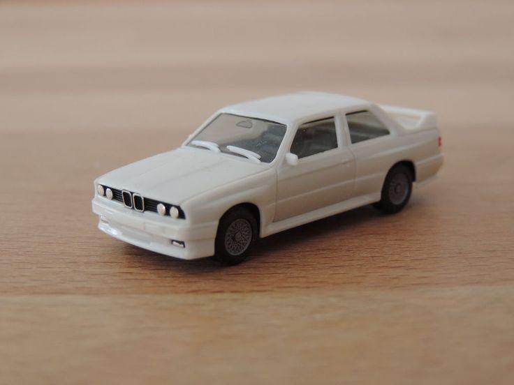 BMW M3 (E30) weiß * 1:87 Herpa (3061)