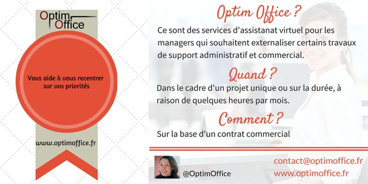 Besoin d'aide pour l'administration des ventes & des achats, la gestion commerciale ou le secrétariat? Contactez Optim Office pour un devis gratuit ! #secrétariat #ADV #OptimOffice