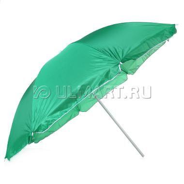 Зонт пляжный GREENHOUSE UM-PL160-4/220, цвет зеленый, 220х220см