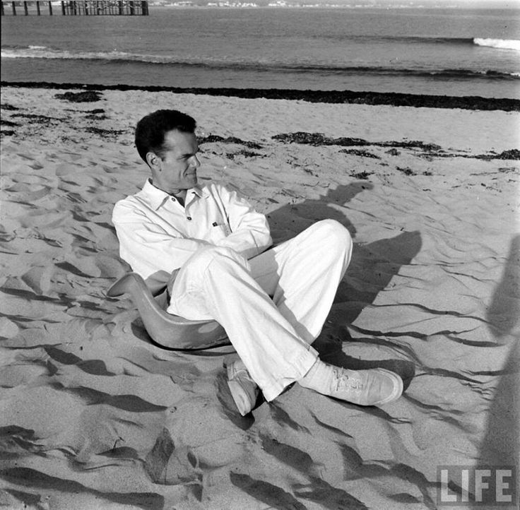 On June 17, 1907, #CAHallofFame inductee and legendary designer Charles Eames was born in St. Louis, MO. (Image: Life Magazine,1950.)