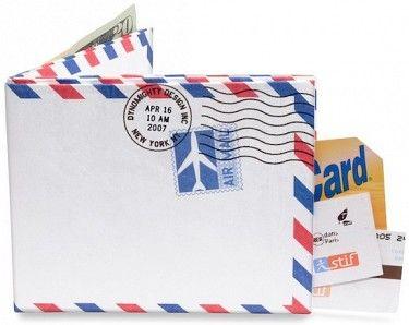 Peněženka #mightywallet Airmail Mighty Wallet. #bontonland http://www.bontonland.cz/airmail-mighty-wallet/